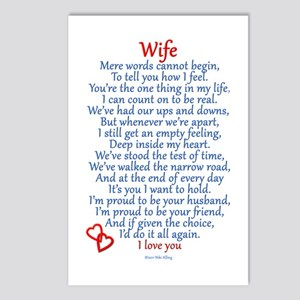 Wife Love Postcards (Package of 8)