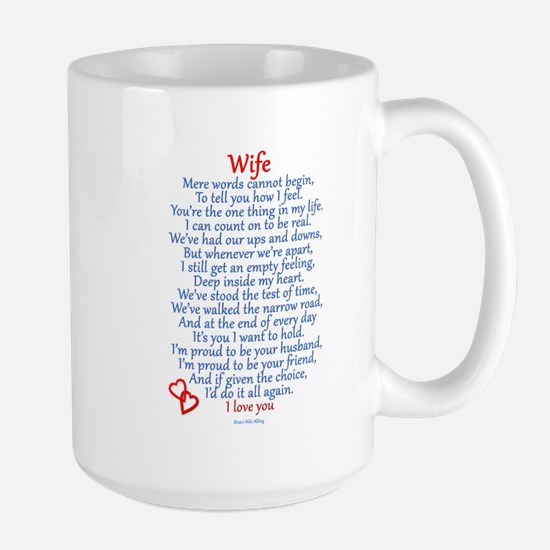 Wife Love Large Mug