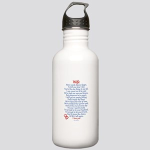 Wife Love Stainless Water Bottle 1.0L