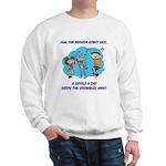 Sweatshirt: Sam Says Giggle