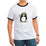 Fishing penguin Ringer T