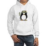 Fishing penguin Hooded Sweatshirt