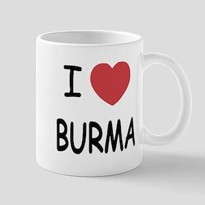 I heart burma Mug