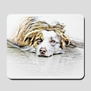 AUSTRALIAN SHEPHERD - DOG Mousepad