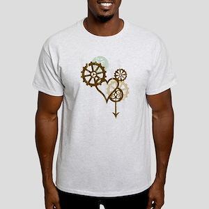 Steampunk Love Light T-Shirt