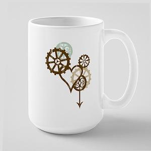 Steampunk Love Large Mug