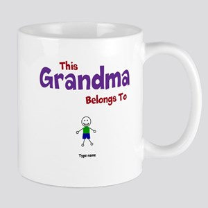 This Grandma Belongs 1 One Mug