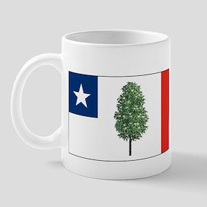 Mississippi Magnolia Flag Mug