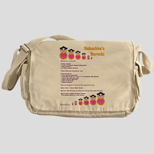 Babushka's Borscht Recipe Messenger Bag