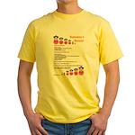 Babushka's Borscht Recipe Yellow T-Shirt