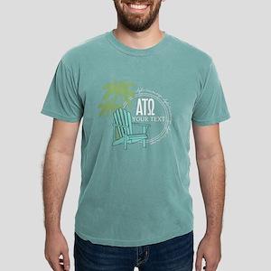 Alpha Tau Omega Palm C Mens Comfort Color T-Shirts