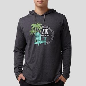 Alpha Tau Omega Palm Chair Pe Mens Hooded T-Shirts