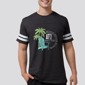 Alpha Tau Omega Palm Chair Mens Football T-Shirts