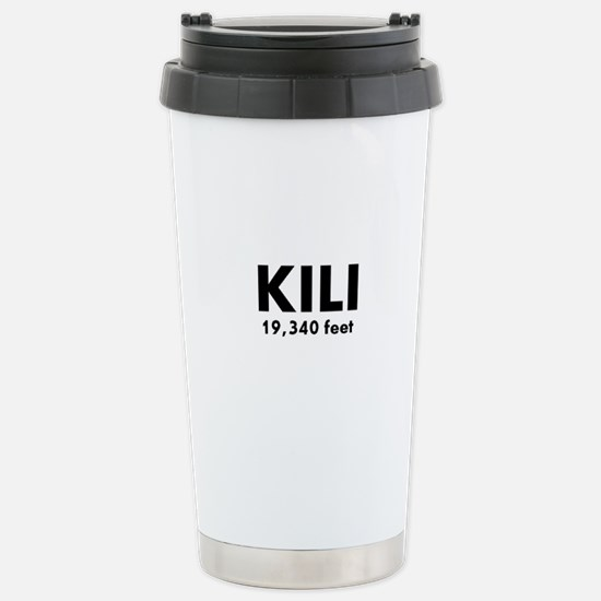Kilimanjaro Stainless Steel Travel Mug