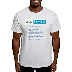 7 Step Job Search T-Shirt