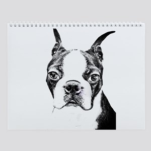 BOSTON TERRIER - DOG Wall Calendar