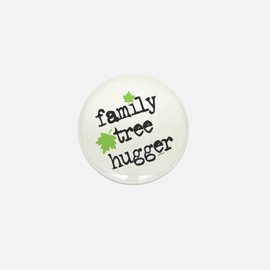 Family Tree Hugger Mini Button