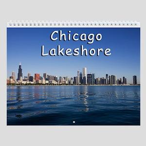 Chicago Lakeshore Wall Calendar
