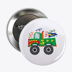 "5th Birthday Monster Truck 2.25"" Button"