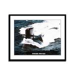 USS RAY Framed Panel Print