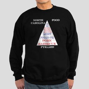 North Carolina Food Pyramid Sweatshirt (dark)