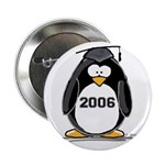 2006 Graduate penguin Button