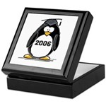 2006 Graduate penguin Keepsake Box