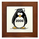 2006 Graduate penguin Framed Tile