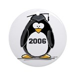 2006 Graduate penguin Ornament (Round)