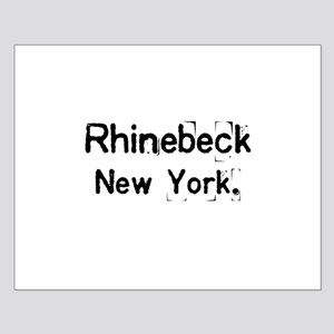 simply Rhinebeck New York Small Poster