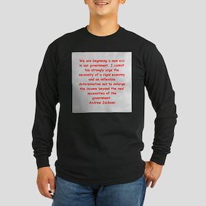 andrew jackson Long Sleeve Dark T-Shirt