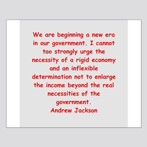 andrew jackson Small Poster