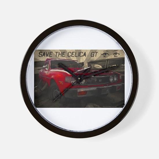 Cute Toyota celica Wall Clock