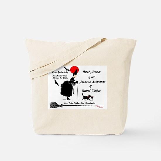 Cute Witch broom Tote Bag