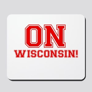 On Wisconsin Mousepad
