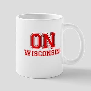 On Wisconsin Mug