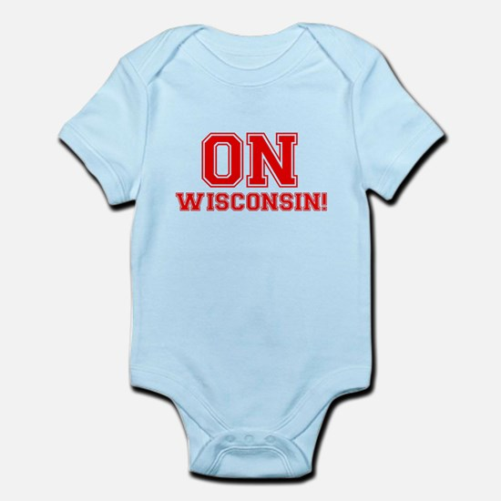 On Wisconsin Infant Bodysuit