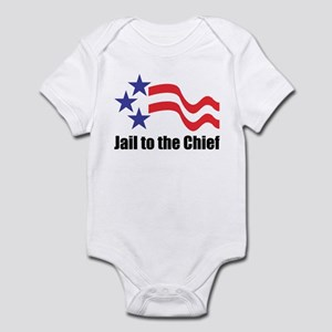 Jail to the Chief Infant Creeper
