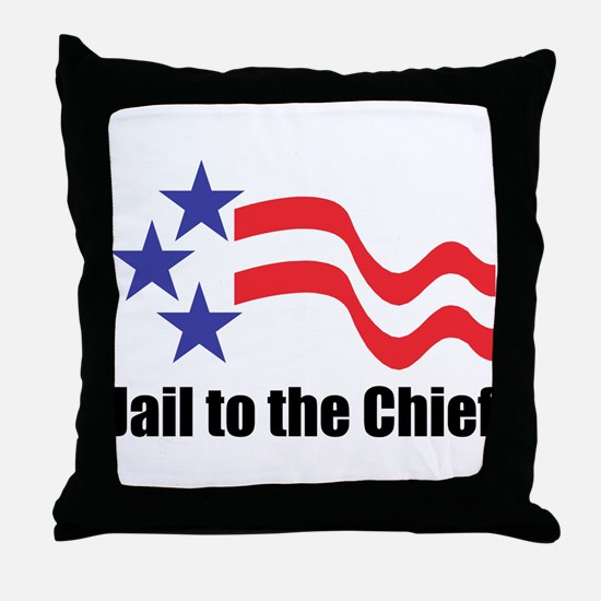 Jail to the Chief Throw Pillow