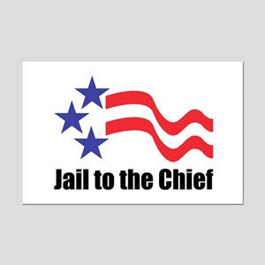 Jail to the Chief Mini Poster Print