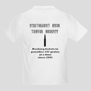 Southwest Asia Travel Agency Kids Light T-Shirt
