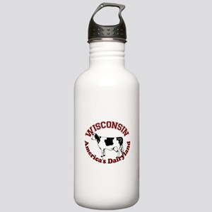 America's Dairyland Stainless Water Bottle 1.0L