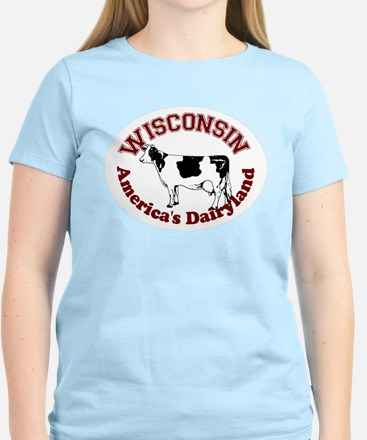America's Dairyland Women's Light T-Shirt