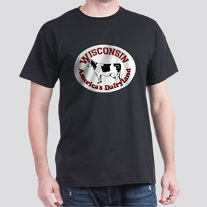 America's Dairyland Dark T-Shirt