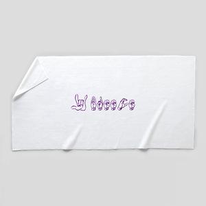 ILY Breece Beach Towel