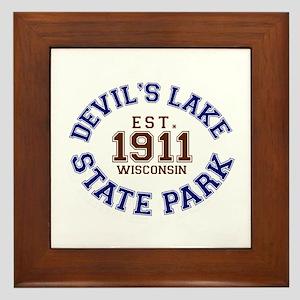 Devil's Lake State Park Framed Tile