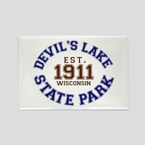 Devil's Lake State Park Rectangle Magnet
