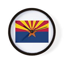 Arizona State Flag Wall Clock