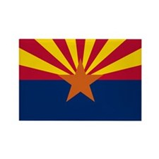 Arizona State Flag Rectangle Magnet (100 pack)