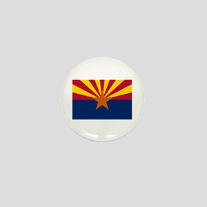 Arizona State Flag Mini Button